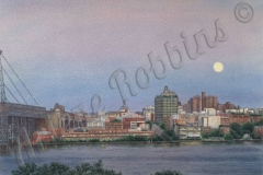 Moon Over East River