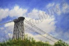 Williamsburg Bridge in Spring